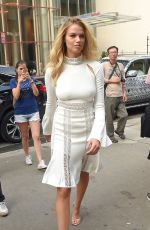 HAILEY CLAUSON Out and About in New York 09/10/2016