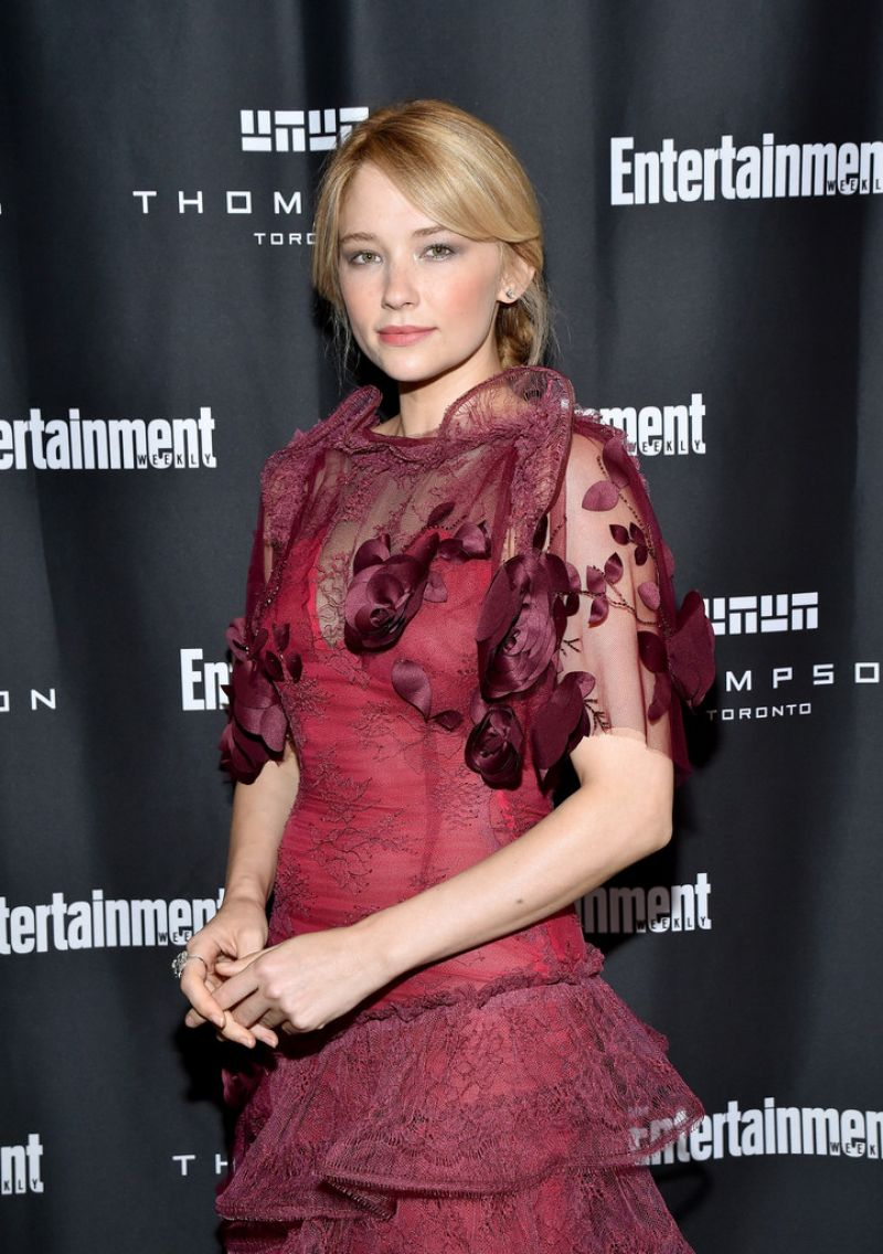 HALEY BENNETT at Entertainment Weekly's Toronto Must List Party 09/10/2016