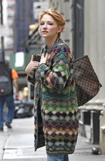 HALEY BENNETT Out and About in New York 09/26/2016