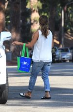 HALLE BERRY Out and About in Beverly Hills 09/21/2016