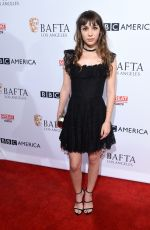 HANNAH MARKS at BBC America Bafta Los Angeles TV Tea Party 2016 in West Hollywood 09/17/2016