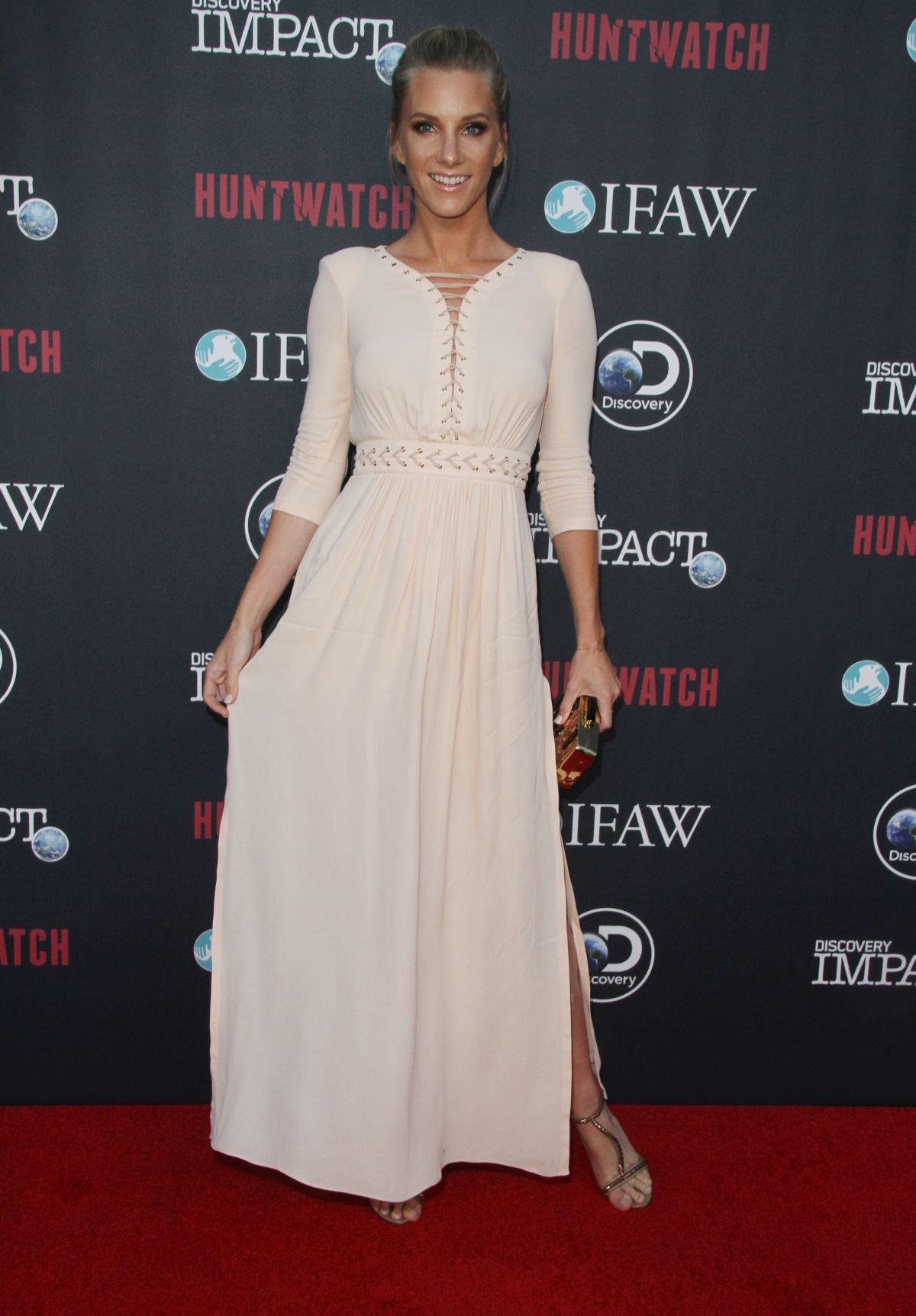 HEATHER MORRIS at 'Huntwatch' Documentary Special ...