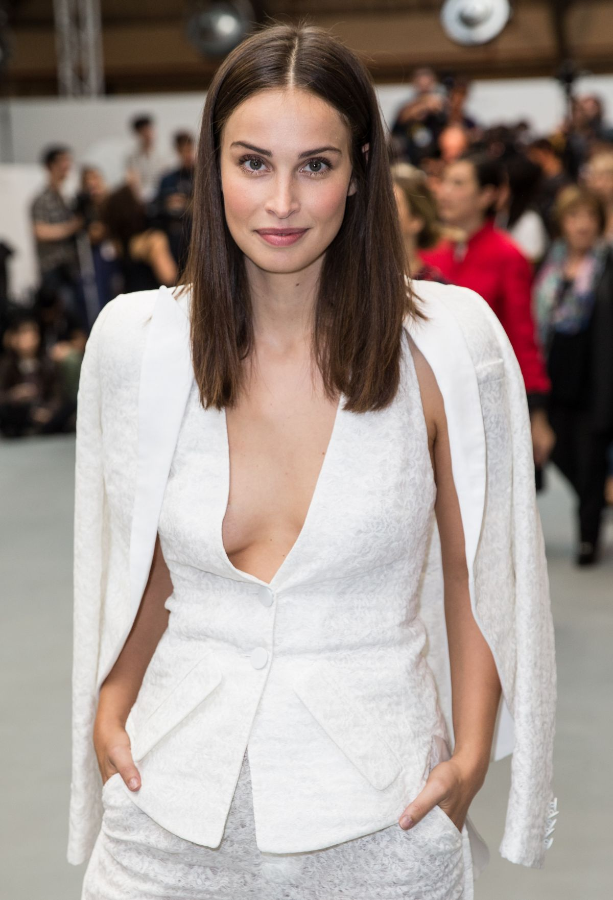 HEIDA REED at Antonio Beradi Fashion Show at London Fashion Week 09/19/2016