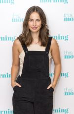 HEIDA REED at This Morning TV Show in London 09/15/2016