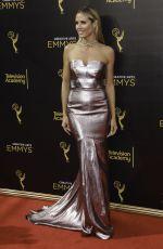 HEIDI KLUM at Creative Arts Emmy Awards in Los Angeles 09/10/2016