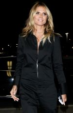 HEIDI KLUM at Los Angeles International Airport 09/07/2016