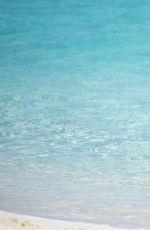 HEIDI MONTAG in Bikini at a Beach in Bahamas 09/14/2016