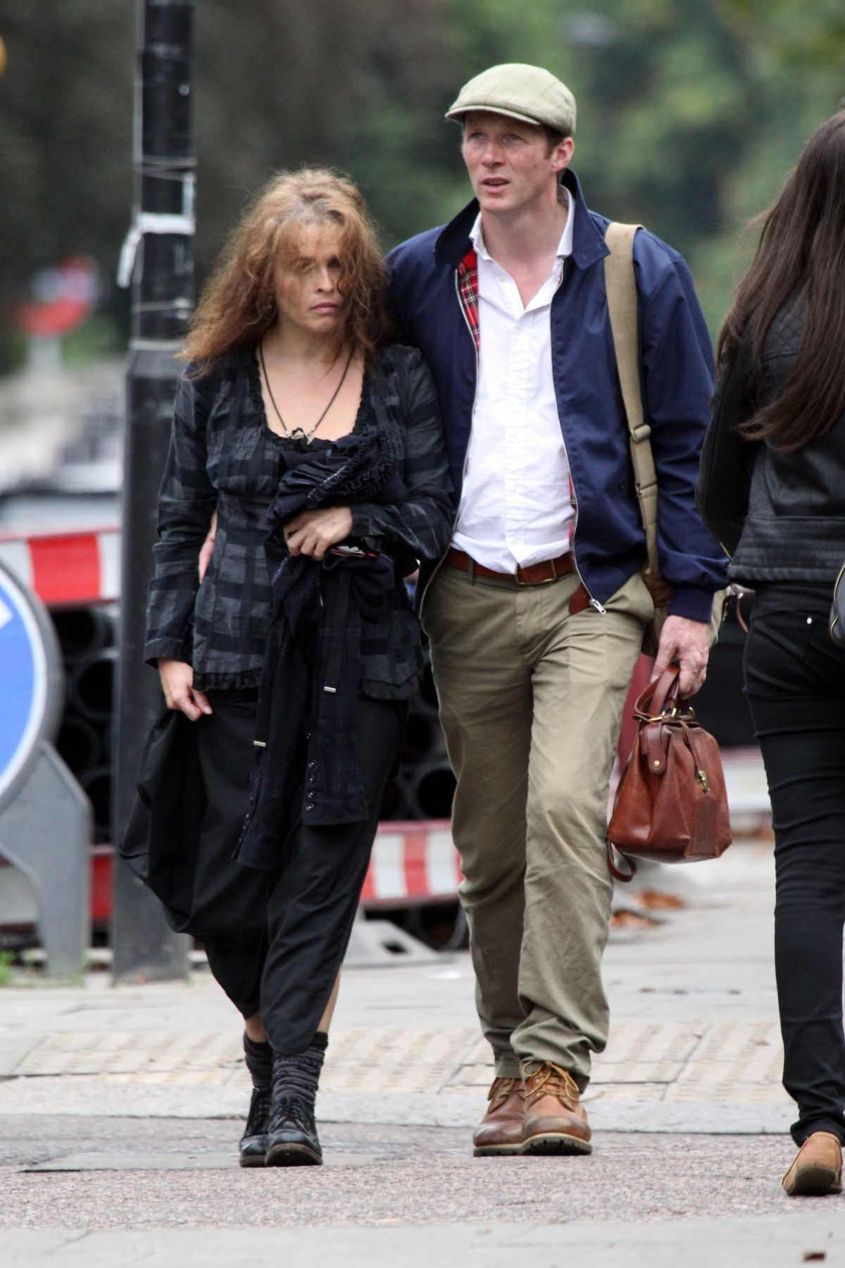 HELENA BONHAM CARTER Out in Hampstead | Stunning Actress