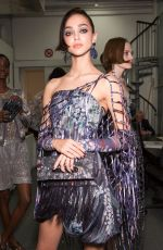 HENYA KATAVA at Giorgio Armani Spring/Summer 2017 Fashion Show at Milan Fashion Week