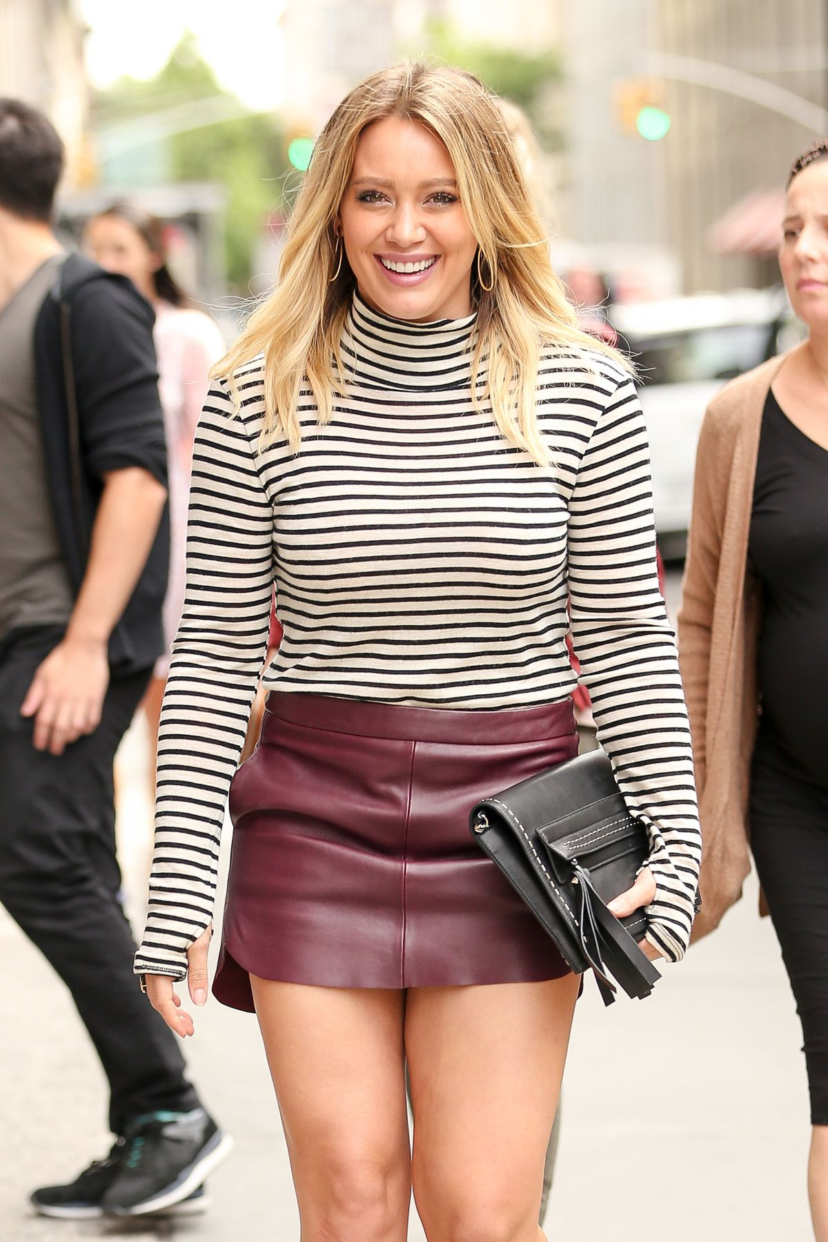 HILARY DUFF Arrives at ABC Kitchen in New York 09/27/2016 - HawtCelebs