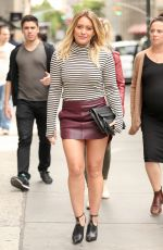 HILARY DUFF Arrives at ABC Kitchen in New York 09/27/2016