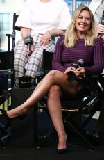 HILARY DUFF at AOL Build Speaker Series Presents the Cast of