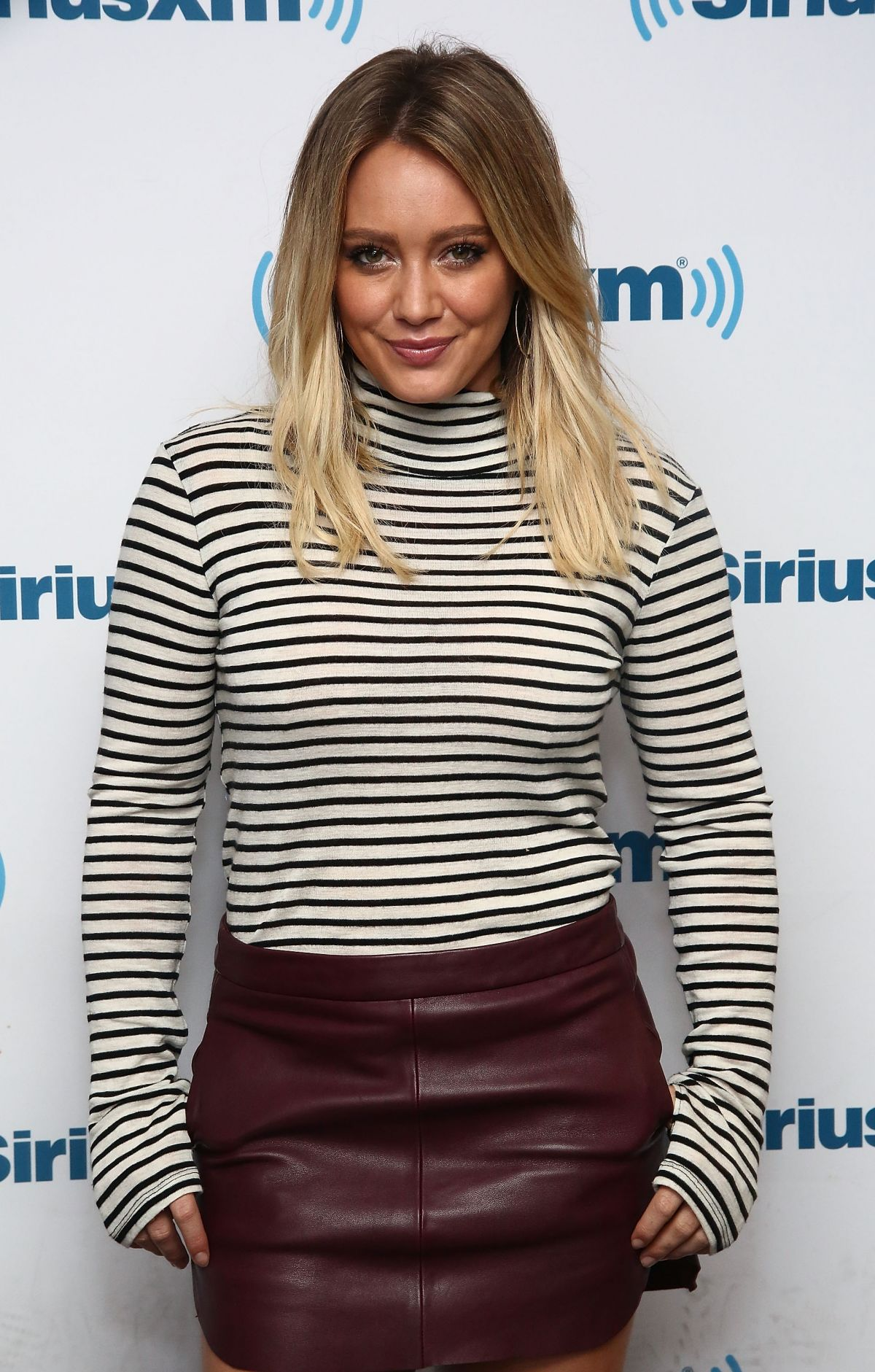 HILARY DUFF at SiriusX...