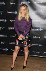 HILARY DUFF at Tribeca Tune in & Visine #screenon Present: Younger in New York 09/26/2016