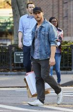 HILARY DUFF Out and About in New York 09/23/2016
