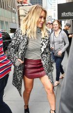 HILARY DUFF Out and About in New York 09/27/2016