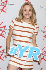 HUNTER HALEY KING at The Young & The Restless 11,000 Show Celebration in Los Angeles 09/08/2016