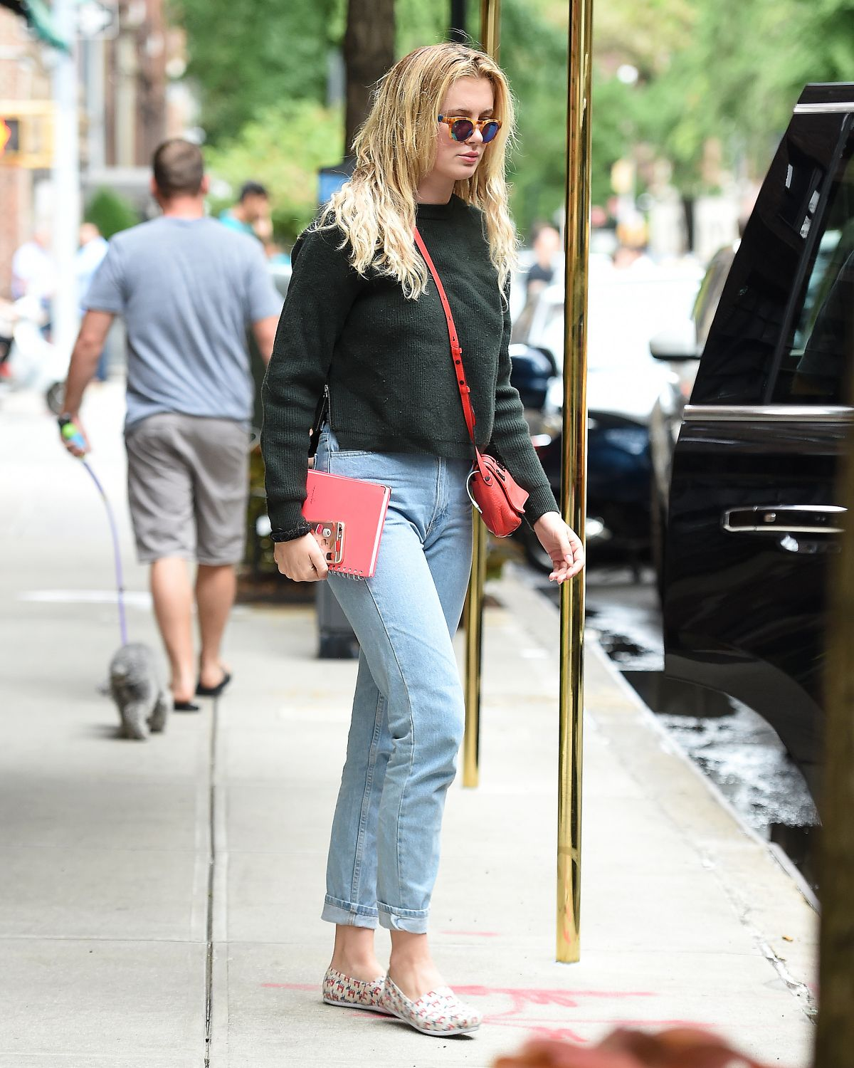 IRELAND BALDWIN Out and About in New York 09/06/2016