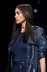 IRINA SHAYK at Versace Fashion Show at Milan Fashion Week 09/23/2016