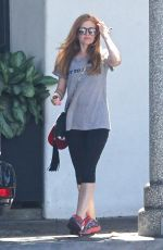 ISAL FISHER Leaves a Salon in Beverly Hills 08/31/2016