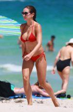 JACLYN SWEDBERG in Bikini at a Beach in Miami 09/05/2016