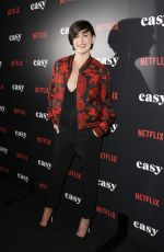JACQUELINE TOBONI at 'Easy' Premiere in West Hollywood 09/14/2016