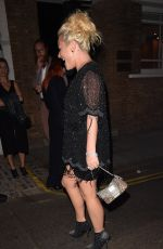 JAIME WINSTONE Nght Out in London 09/07/2016