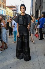 JAIMIE ALEXANDER at Christian Siriano Fashio Show at New York Fashion Week 09/10/2016