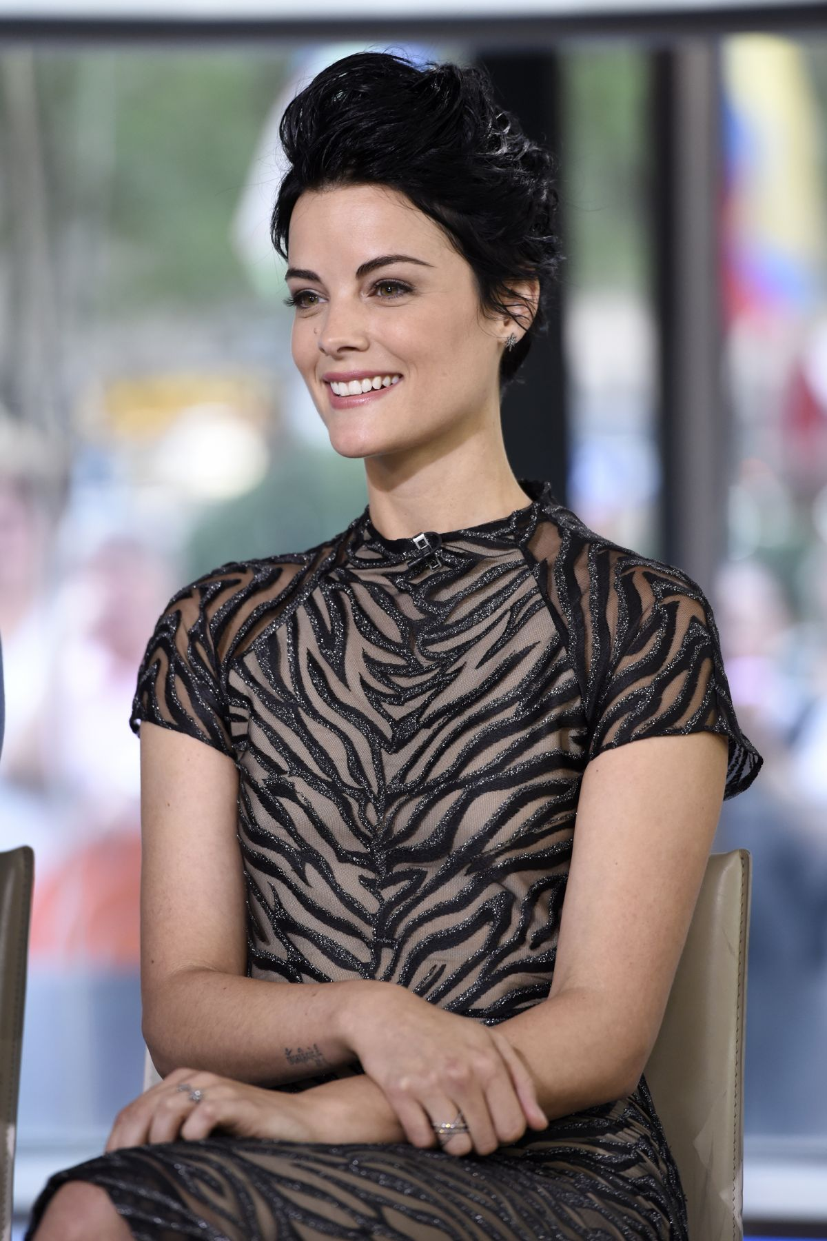JAIMIE ALEXANDER at Today Show in New York 09/14/2016