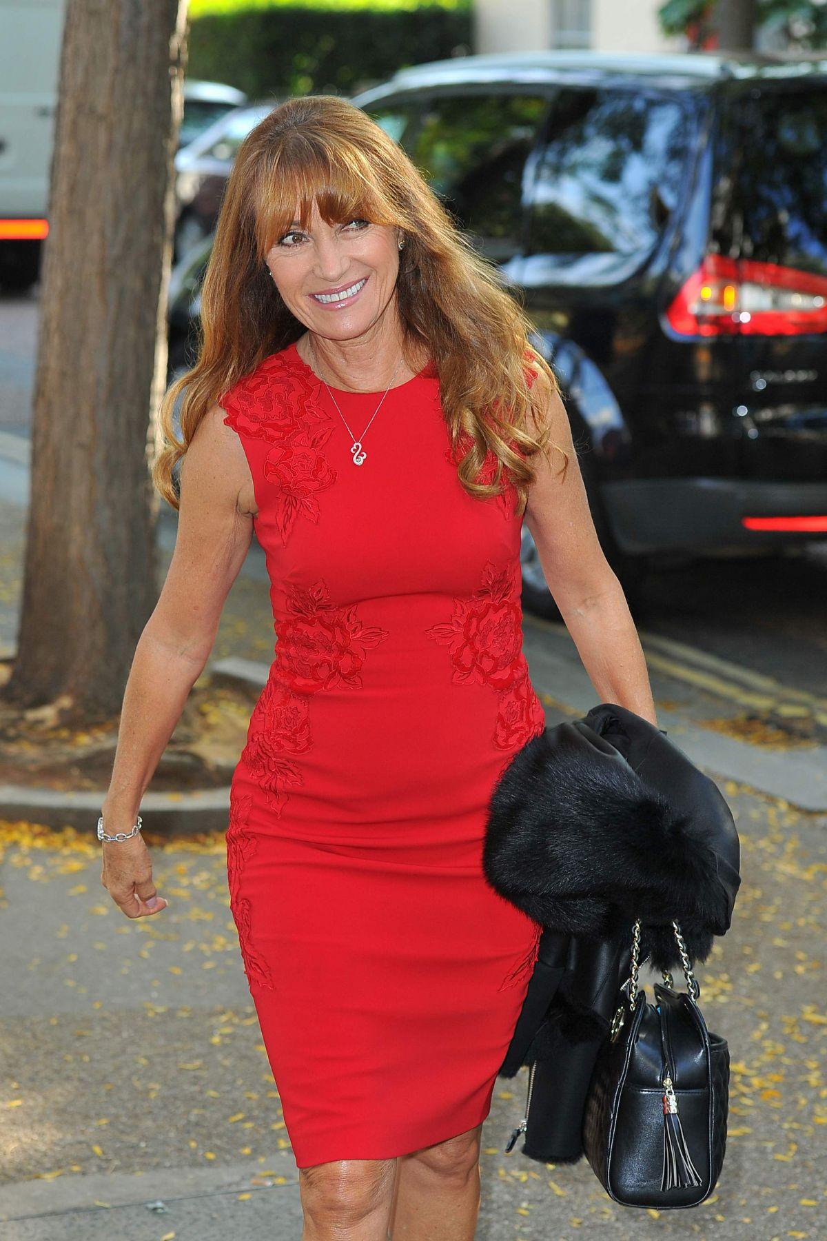 JANE SEYMOUR Arrives at ITV Studios in London 09/21/2016