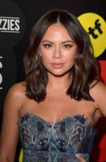 JANEL PARRISH at The Buzzies Buzzfeed's Pre-emmy Party in West Hollywood 09/14/2016