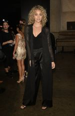 JASMNE SANDERS Leaves Marchesa Fashion Show at New york Fashion Week 09/14/2016