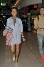 JEMMA LUCY Arrives at Airport in Dublin 09/13/2016