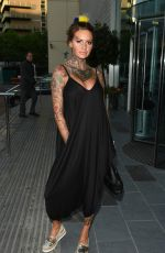 JEMMA LUCY Arrives at Lowry Hotel in Manchester 09/05/2016
