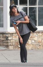 JENNA DEWAN Leaves a Yoga Class in Studio City 09/12/2016