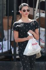 JENNA DEWAN Out for Lunch at Jumpin