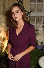 JENNA LOUISE-COLEMAN at Burberry and Bafta in Conversation at Makers House in London 09/21/2016