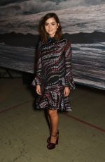 JENNA LOUISE COLEMAN at Erdem Fashion Show at London Fashion Week 09/19/2016