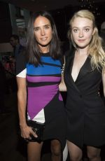 JENNIFER CONNELLY and DAKOTA FANNING at Entertainment Weekly