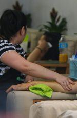 JENNIFER GARNER at a Nail Salon in Los Angeles 09/26/2016