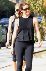 JENNIFER GARNER Heading to a Gym in Beverly Hills 09/10/2016