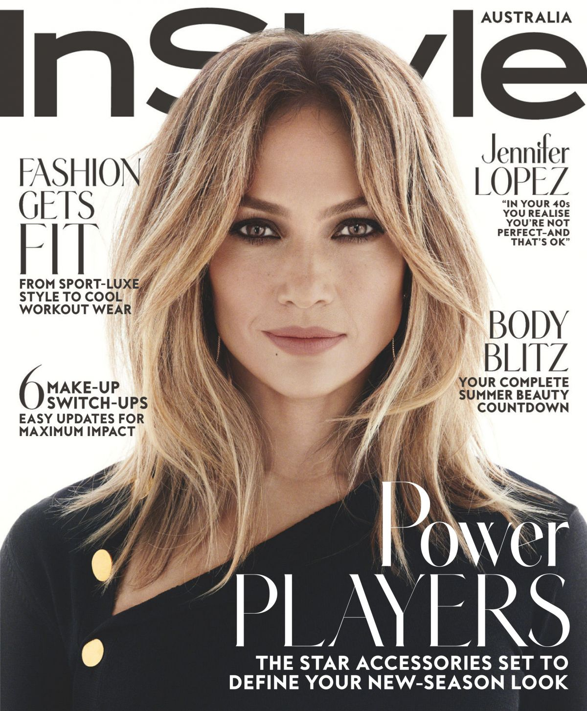 JENNIFER LOPEZ in Instyle Magazine, Australia October 2016 Issue