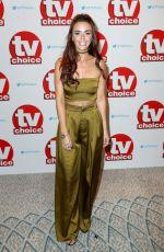 JENNIFER METCALFE at TV Choice Awards in London 09/05/2016