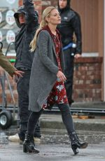 JENNIFER MORRISON on the Set of