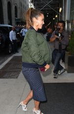 JESSICA ALBA Arrives at Edition Hotel in New York 09/13/2016
