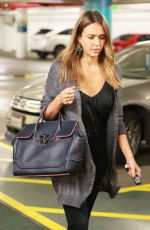 JESSICA ALBA at a Medical Building in Beverly Hills 09/01/2016