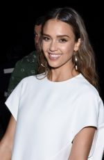 JESSICA ALBA at Narciso Rodriguez Fashion Show at NYFW in New York 09/13/2016
