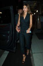 JESSICA ALBA Leaves Her Hotel in New York 09/08/2016