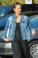 JESSICA ALBA Out and About in Venice 09/04/2016