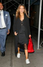 JESSICA ALBA Out for Dinner in New York 09/12/2016